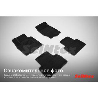 3D коврики в салон SKODA OCTAVIA A5, цвет: Черный, 2008-