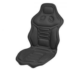 Подогрев сиденья со спинкой  SKYWAY с терморегулятором (2 режима) 120х51см 12V Черный 2,5А-3А