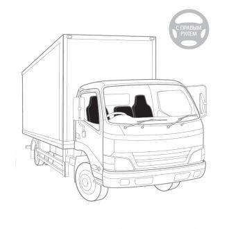 Чехлы для сидений грузовиков, арт.: GRU-001 Cyclone