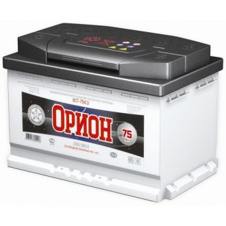 Аккумулятор Орион 75 в Новосибирске