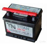 Аккумулятор автомобильный Titan ARCTIC 6ст-55 o