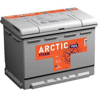 Аккумулятор автомобильный Titan ARCTIC 6ст-75