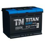 Аккумулятор автомобильный Titan Euro Silver 6ст-56 о