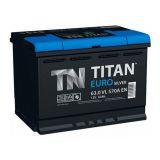 Аккумулятор автомобильный Titan Euro Silver 65