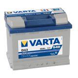Аккумулятор VARTA BD 60 о 560 410 054 (D47)