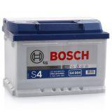 Аккумулятор BOSCH S4 004 SILVER 12V 60Ah