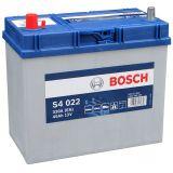 Аккумулятор BOSCH S4 022 SILVER 12V 45Ah