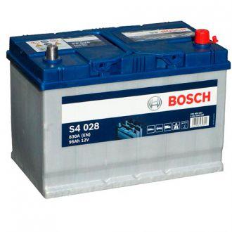 Аккумулятор BOSCH S4 028 SILVER 12V 95Ah