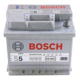 Аккумулятор BOSCH S5 001 SILVER PLUS 12V 52Ah