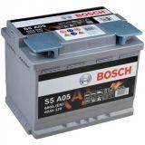 Аккумулятор BOSCH S5 A05 AGM 60Ah (0 092 S5A 050)