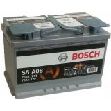 Аккумулятор BOSCH S5 A08 AGM 70Ah (0 092 S5A 080)