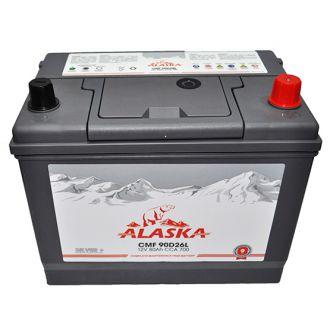 Аккумулятор ALASKA CMF 80 90D26L
