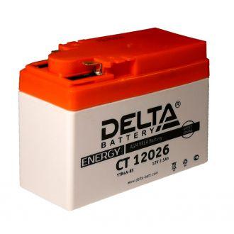 Мото-аккумулятор DELTA AGM, арт. CT 12025 / YT4B-BS