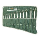 Набор ключей накидных 12предм. ДТ 6x7, 8*9, 10*11, 12*13, 14*15, 16*17, 18*19,20*22, 21*23, 24,27, 25*28, 30x32мм сумка планшет