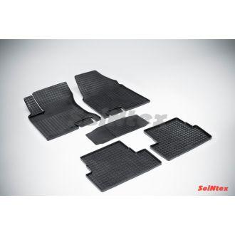 Коврики резиновые сетка в салон Nissan X-TRAIL 2007-2015