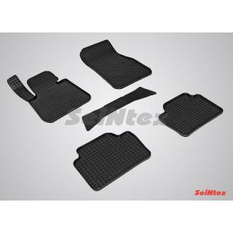 Коврики резиновые в салон сетка BMW 3 Ser F-30 2011-