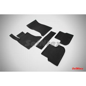 Коврики резиновые в салон сетка BMW 5 Ser F-10 2013-