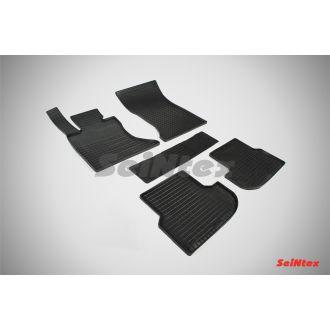Коврики резиновые в салон сетка BMW 5 Ser F-10 4WD 2013-