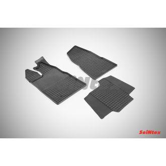 Коврики резиновые в салон сетка FORD TRANSIT Custom 2014-