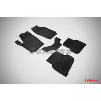 Коврики резиновые в салон сетка VOLKSWAGEN POLO Sedan 2010-